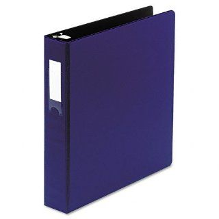 "Wilson Jones Products   Wilson Jones   Locking No Gap Round Ring Binder With Label Holder, 1 1/2"" Capacity, Dark Blue   Sold As 1 Each   Popular No Gap round ring design keeps rings tightly closed without gaps.   Pocket Guards within covers hold paper"