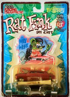 Big Daddy Ed Roth Rat Fink RED Chevy Die Cast Car Toys & Games