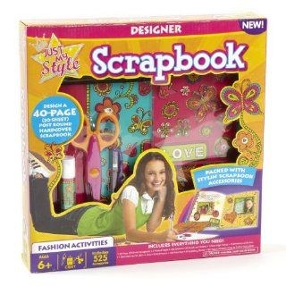 Just My Style Designer Scrapbook Toys & Games