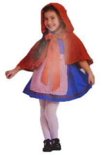 Little Red Riding Hood Child Costume Toddler 2 4 Clothing