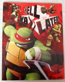 Teenage Mutant Ninja Turtles 2 Pocket Portfolio (Shell Ya Latter) (Red)  Portfolio Ring Binders