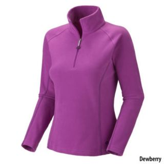 Mountain Hardwear Womens MicroChill Zip Tee 442249