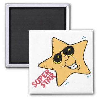 Super Star ~ Saying ~  Word Play Refrigerator Magnets