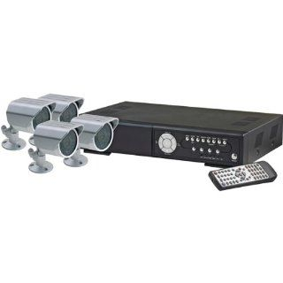 Lorex L224V251C4 4 Channel Internet Remote View Component Security Bundle with 250GB Hard Drive DVR and 4 CCD Color Cameras  Surveillance Cameras  Camera & Photo