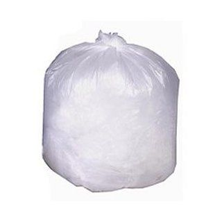 Clear Trash Can Liner, Garbage Bag   45 Gallon Light Duty, 0.55 Mil, 250/Case Health & Personal Care