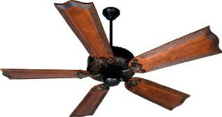 Craftmade P252OB 5 Blade Energy Star Indoor Ceiling Fan with Reversible Motor and Downrods   Blad, Oiled Bronze