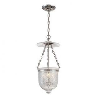 Hudson Valley Lighting 252 PN C3 Three Light Pendant from the Hampton Collection, Polished Nickel   Ceiling Pendant Fixtures