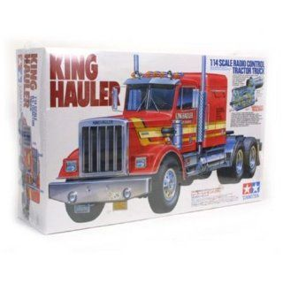 Tamiya RC King Hauler Truck 1/14 Scale Semi Kit Toys & Games