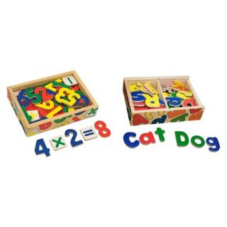 Melissa & Doug® Magnetic Letters & Numbers B