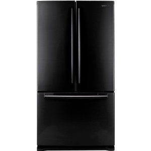 Samsung RF266AEBP 26 cu. Ft. French Door Refrigerator   Black Pearl Kitchen & Dining