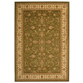 Lyndhurst Collection Sage/ivory Traditional Rug (9 X 12)