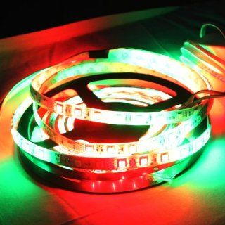 Rextin 5M 16.4 Ft 270leds 54LED/M 5050 RGB led strip Waterproof Dream Color Colorful Changing Kit Horse Race LED Strip light lamp Musical Instruments