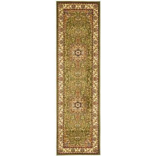 Lyndhurst Collection Traditional Sage/ivory Runner (23 X 12)