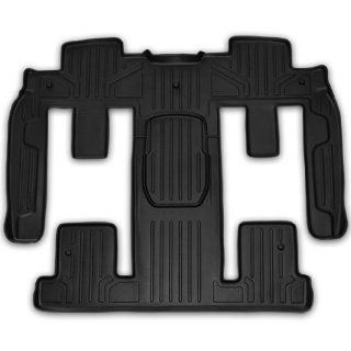 Maxliner MAXFLOORMAT Second and Third Row Custom Fit All Weather Floor Mats For Select Chevy/Buick/GMC Models   (Black) Automotive