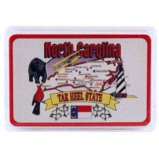 North Carolina Playing Cards State Map 24 Display Case Pack 96 Sports & Outdoors