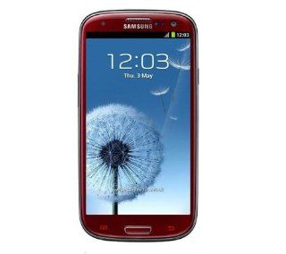"Samsung Galaxy S lll I9300 Unlocked GSM Phone with 4.8"" HD Super AMOLED Screen, 8MP Camera, Android OS 4.0, International Version   Garnet Red Cell Phones & Accessories"