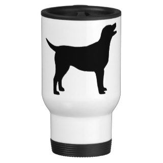 Labrador Retriever (in black) Coffee Mug