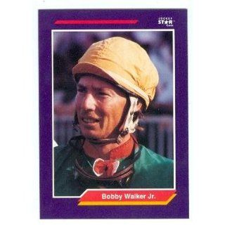 Bobby Walker Jr. trading card (Horse Racing) 1992 Jockey Star #275 Entertainment Collectibles