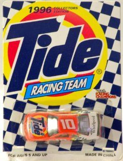 1996   Racing Champions   Collectors Edition   Tide 50th Anniversary   Tide Racing Team   Ricky Rudd   #10 Ford Thunderbird   NASCAR   Very Rare   Mint   Collectible Toys & Games