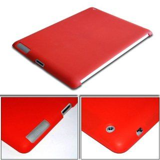 Smart Cover Partner Companion Compatible Silicone Case Cover for Apple iPad2 iPad 2 Red Computers & Accessories