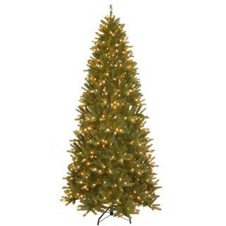 National Tree PEBH4 302L 90X 9 Feet Feel Real Hill Hinged Tree, Medium, Black