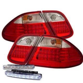 1998 2002 MERCEDES BENZ W208 CLK320 CLK430 LED TAIL LIGHTS REAR BRAKE LAMPS+DRL Automotive