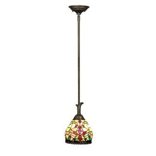 Dale Tiffany TH60205 Topaz Baroque Pendant, Antique Golden Sand   Ceiling Pendant Fixtures