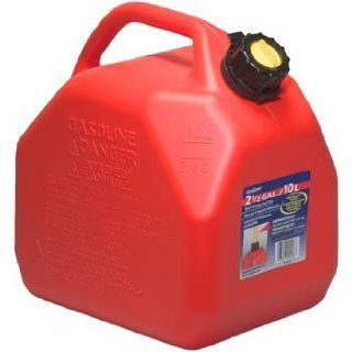 Moeller Scepter Vented Gas Can with Child Resistant Closures (2.5 Gallon)  Boat Fuel Tanks  Sports & Outdoors