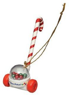 SANTA CLAUS & DR. DUCK CLASSIC FISHER PRICE CHRISTMAS COLLECTIBLE ORNAMENT FROM BASIC FUN Toys & Games