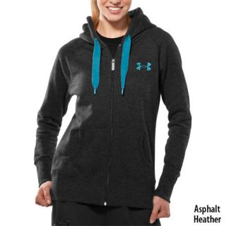 Under Armour Womens Charged Cotton Storm Fleece Full Zip Hoodie 452296