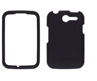 Ventev Soft Touch Snap On Case for Pantech Renue P6030 (Black) Cell Phones & Accessories