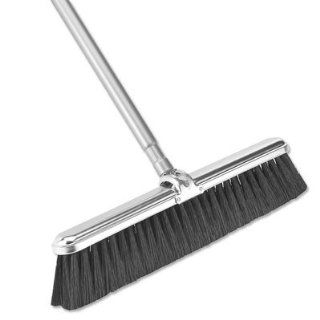 "18"" Light Duty Broom with Handle   Angle Brooms"