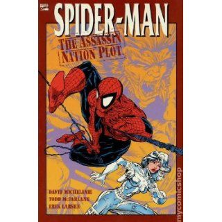 Spider man Assassin Nation Plot (1992) (Originally Presented in AMAZING SPIDER MAN #'s 320 325) David Michelinie, Todd McFarlane, Eric Larsen 0024885235173 Books