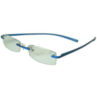Sport Reading Glasses   Gray Blue Frame/Clear Lens +1.25 Mild 732131