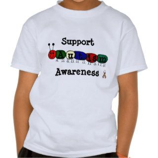 Support Autism Awareness tshirt