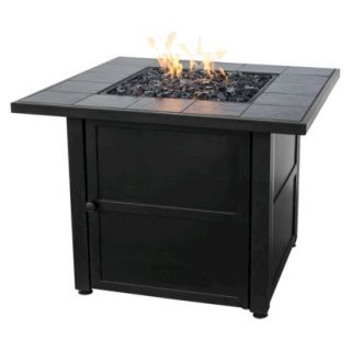 Uniflame Slate Tile LP Gas Fire Pit