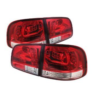 Spyder Auto ALT YD VTOU04 LED RC Volkswagen Touareg Clear Red LED Tail Light Automotive
