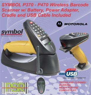 P370 Symbol Phaser Industrial grade handheld barcode scanner USB Version PLUG and PLAY READY TO USE READY TO GO comes with 1 USB CABLE easy system integration GOOD (COMPLETE KIT ) PRODUCT for GREAT PRICE . It's simpler to use and comes as complete kit