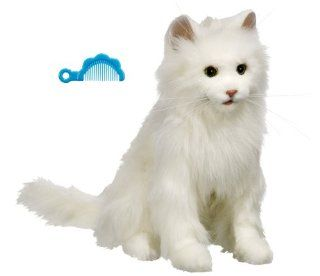 Fur Real Friends Kitty Cat White Toys & Games