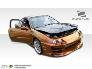 1994 1997 Acura Integra 2DR Duraflex Bomber Body Kit   4 Piece   Includes Bomber Front Bumper Cover (101394) Bomber Rear Bumper Cover (101370) Bomber Side Skirts Rocker Panels (101371) Automotive