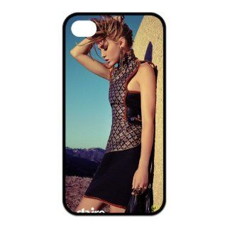 Miley Cyrus Best Actress Singer Design TPU Back Cover For Iphone 4 4s iphone4s 91738 Cell Phones & Accessories