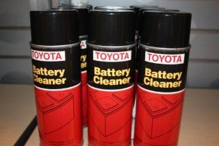 Genuine Toyota Fluid 00289 BTC00 Battery Cleaner   15 oz. Can Automotive