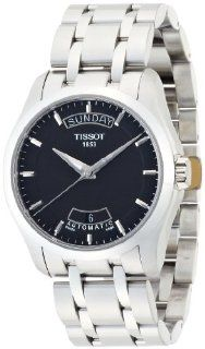 Tissot T Trend Couturier Automatic Movement Black Dial Men's watch #T035.407.11.051.00 at  Men's Watch store.