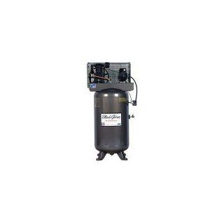 BelAire 218V 5 HP 80 Gallon 1 Phase Vertical 2 Stage Air Compressor Automotive