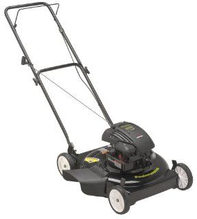Poulan PO500N22SX 22 inch 500 Series Briggs & Stratton Gas Powered Side Discharge Lawn Mower (CARB Compliant) (Discontinued by Manufacturer)  Walk Behind Lawn Mowers  Patio, Lawn & Garden