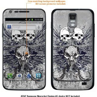 Protective Decal Skin Sticker for Samsung Galaxy S II Skyrocket (AT&T Model) case cover Skyrocket 406 Cell Phones & Accessories