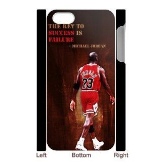 Custom Michael Jordan Cover Case for iPhone 5 5S IP 10984 Cell Phones & Accessories