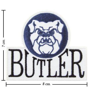 Butler Bulldogs Logo Embroidered Sew Iron on Patches Great Gift for Dad Mom Man Woman
