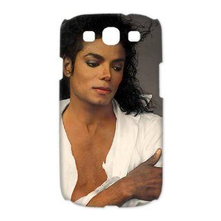 Beautiful Michael Jackson White Shirt case for Samsung Galaxy S3 3D hard cases / Design and made to order / Custom cases Cell Phones & Accessories