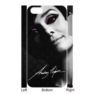 Custom Audrey Hepburn Cover Case for IPhone 5/5s WIP 421 Cell Phones & Accessories